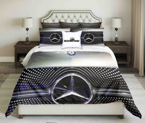 Luxury Mersedes-Benz Bedding Set | beddingkings