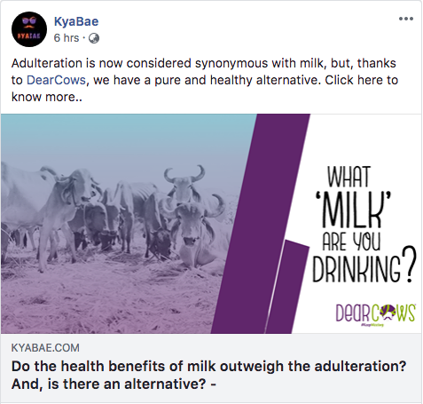 Do the health benefits of milk outweigh the adulteration? And, is there an alternative?