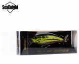 SeaKnight Minnow Fishing Lure 1Pcs SK047  14.5g 72mm/2.83in Propeller VMC Hooks Artificial Hard Bait