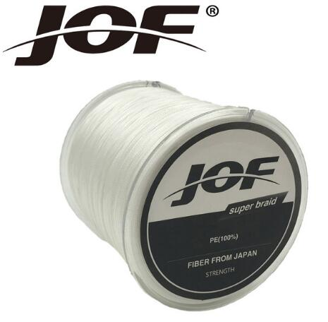 JOF 500m Braided Multifilament 8Strands Super Power PE Fishing Line Rope