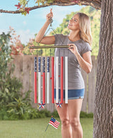 Giant Patriotic Wind Chime