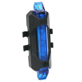 Portable USB Bicycle Rear Safety Warning Light