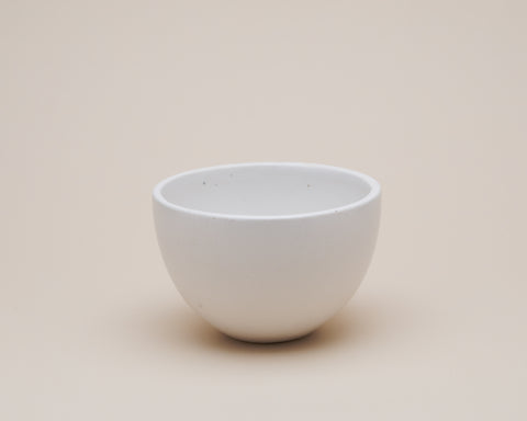 Tahini Bowl - Silk White