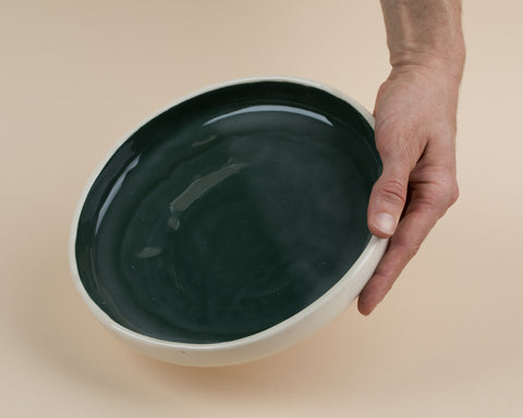 Large Plate- Dark Green