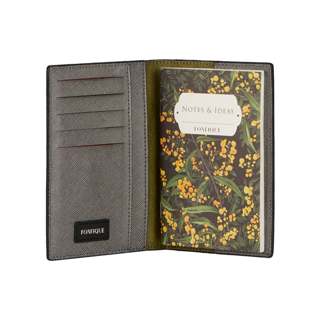 Gemma Passport Holder in Mimosa