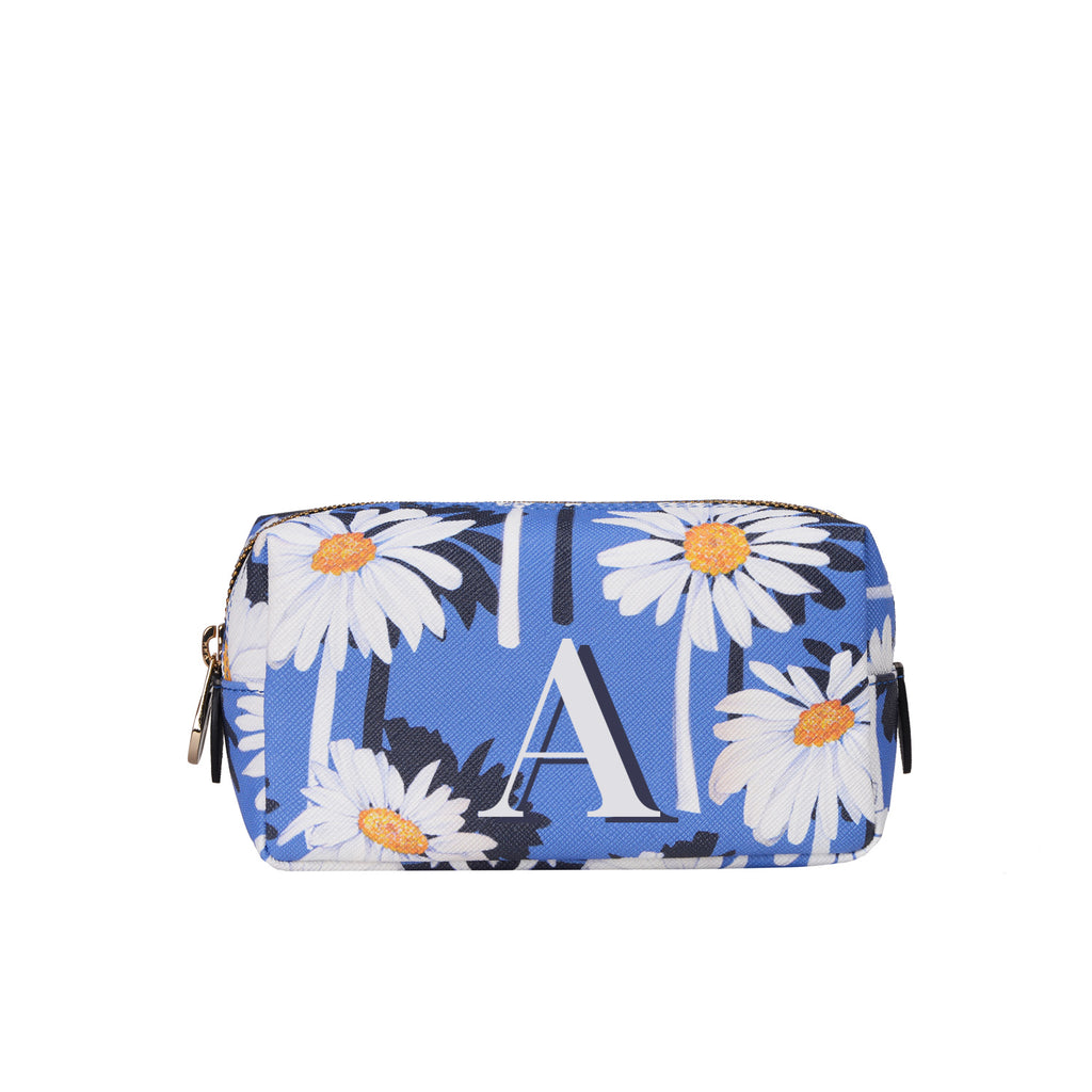Mini Bacio Make-up Bag in Daisy Monogram