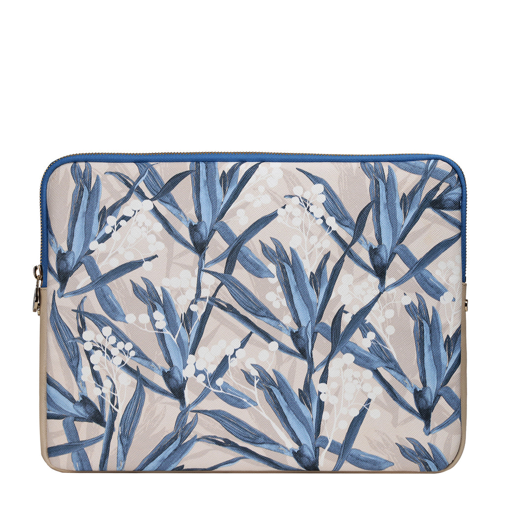 Mitte Laptop Sleeve in Cradle Lily Blue