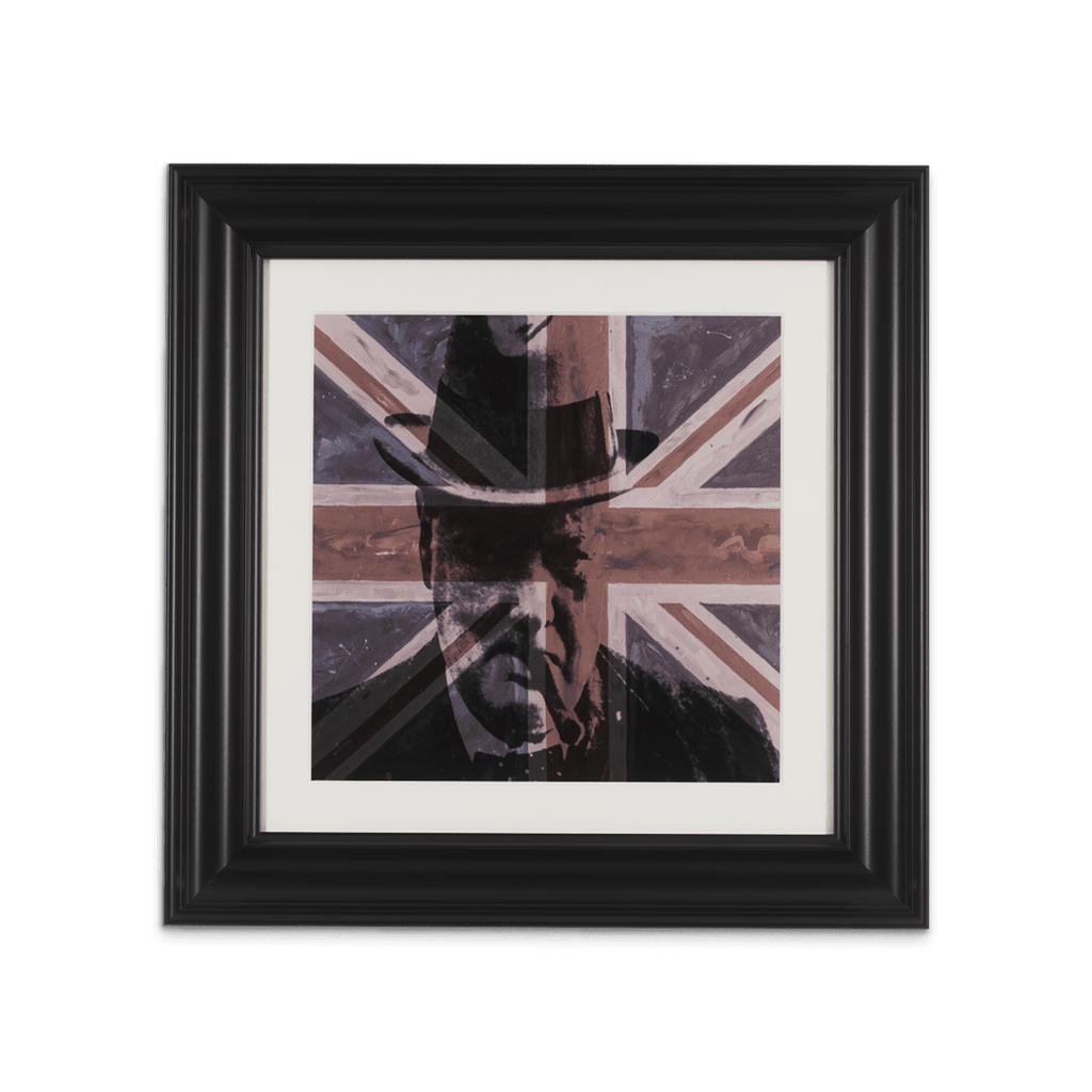 Great British Leadership – 74cm x 74cm