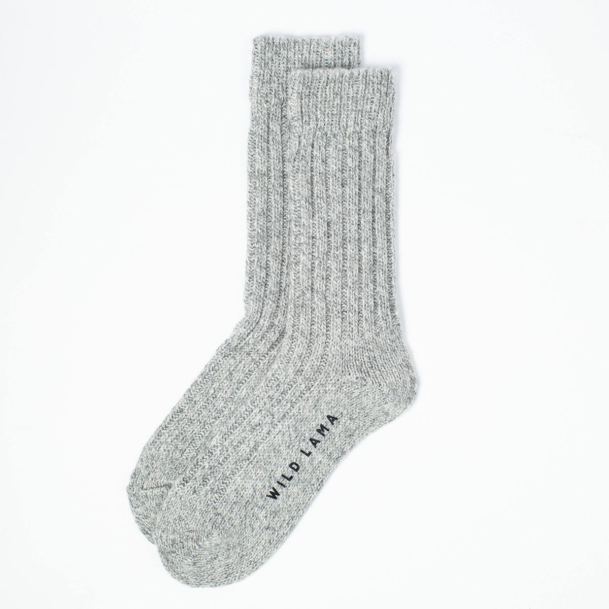 Merino Wool Socks Women - Light Gray