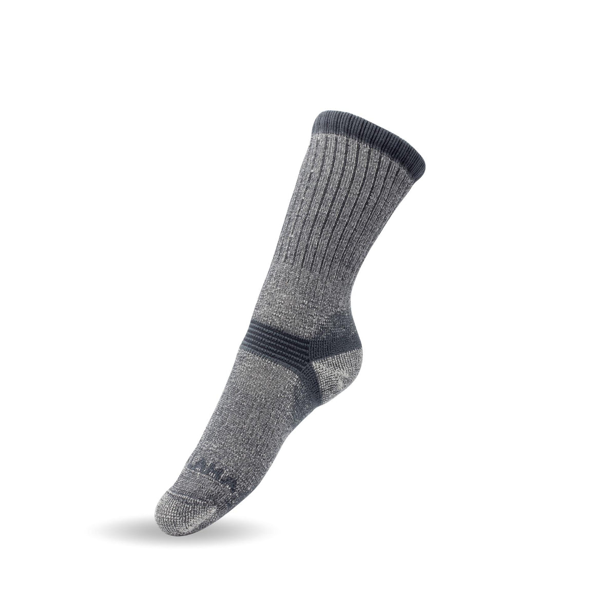 Merino Wool Socks Men - Black & Dark Gray
