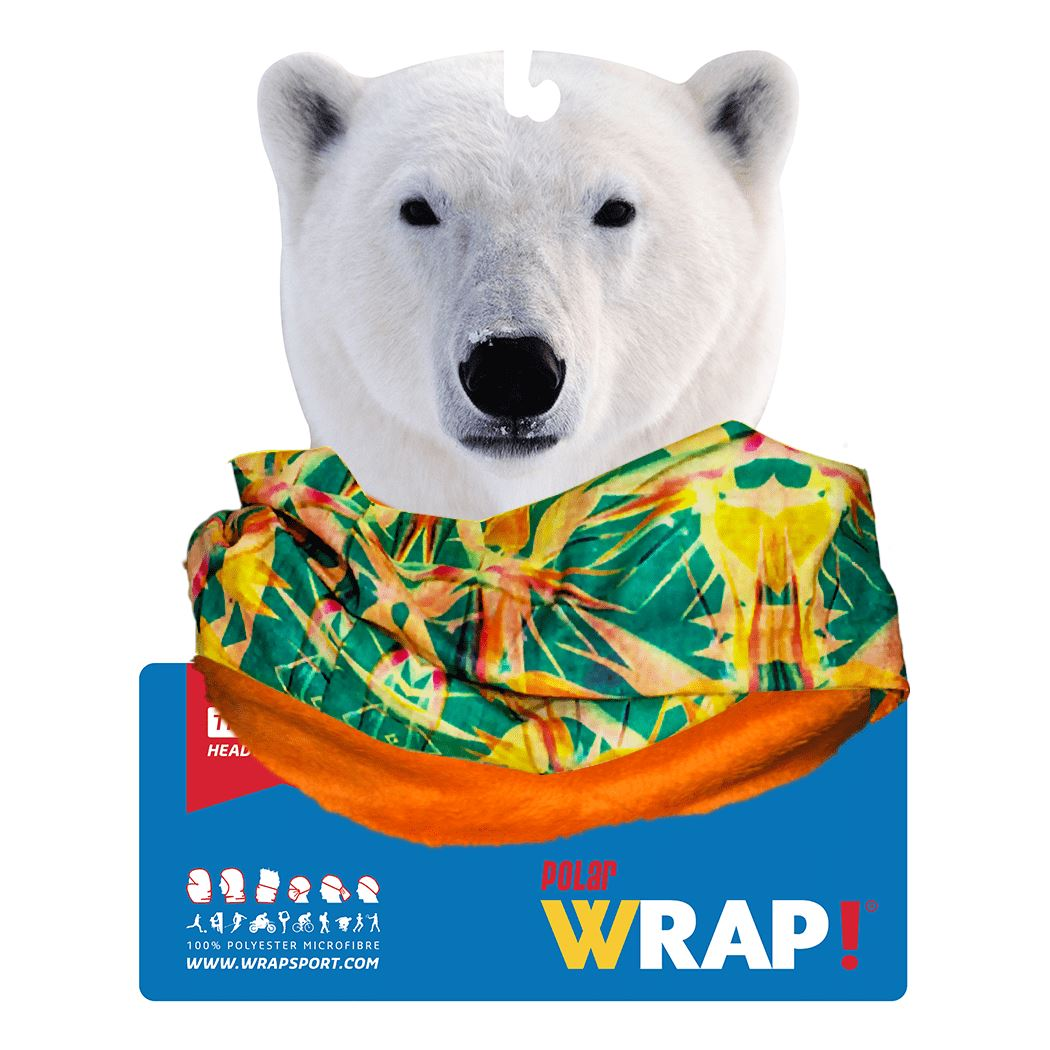 Bird of Paradise Polar Wrap POLAR WRAP!
