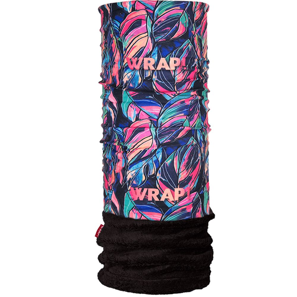 Neon Tropical Polar Wrap WRAP!