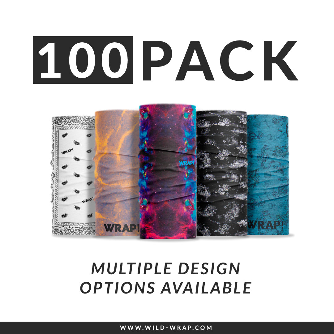 100 Pack Wrap!