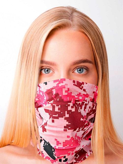 Pink Camouflage WRAP!