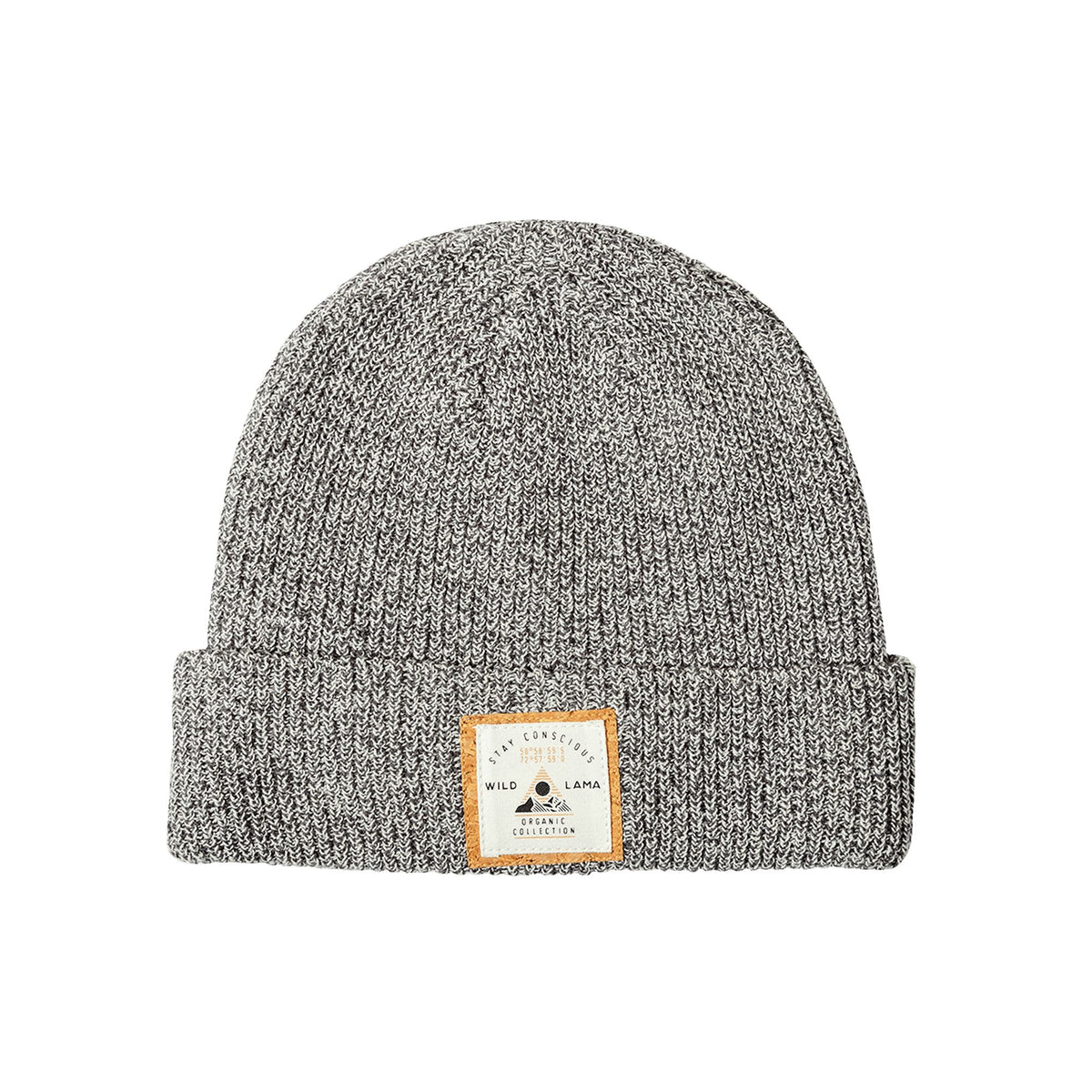 Urban White & Middle Gray Beanie BEANIE WILD WRAP!