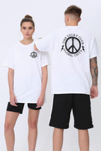 Global Unity T shirt in White & Black