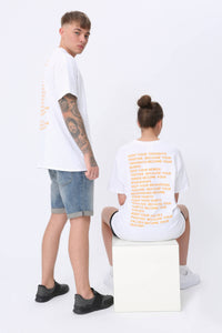 Thoughts T shirt in White