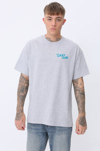 Vibes Short Sleeve T shirt in Grey