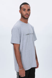 REFLECTIVE Racer T shirt in Grey