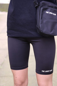 ESSENTIALS Cycling Shorts in Black