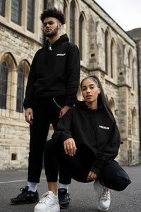Health Hoody in Black