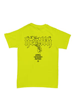 Health T shirt in Safety Green