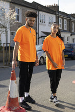 Health T shirt in Safety Orange
