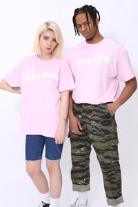 Distort T shirt in Candyfloss