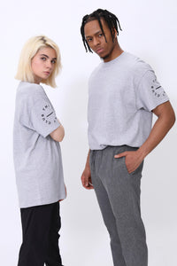 Circle Of Life T shirt in Grey