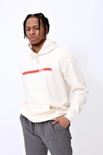 Racer Hoody in Cream & Red