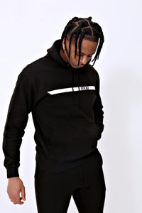 Racer Hoody in Jet Black