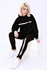 Racer Sweatpants in Jet Black