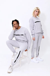 Racer Sweatpants in Sports Grey