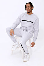 Racer Crewneck in Sports Grey