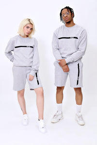 Racer Sweatshorts in Sports Grey