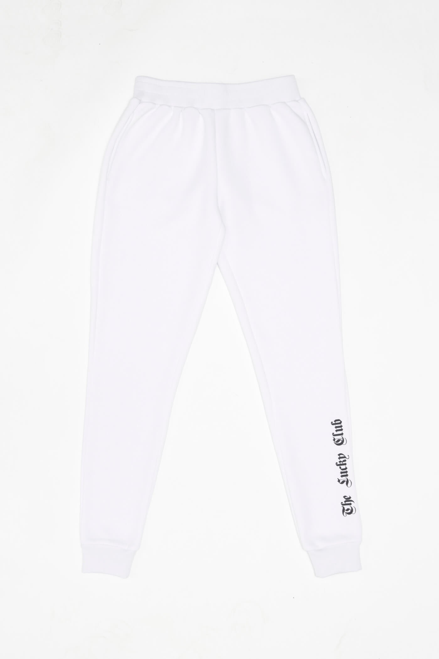 PREMIUM Gothic Sweatpants in White