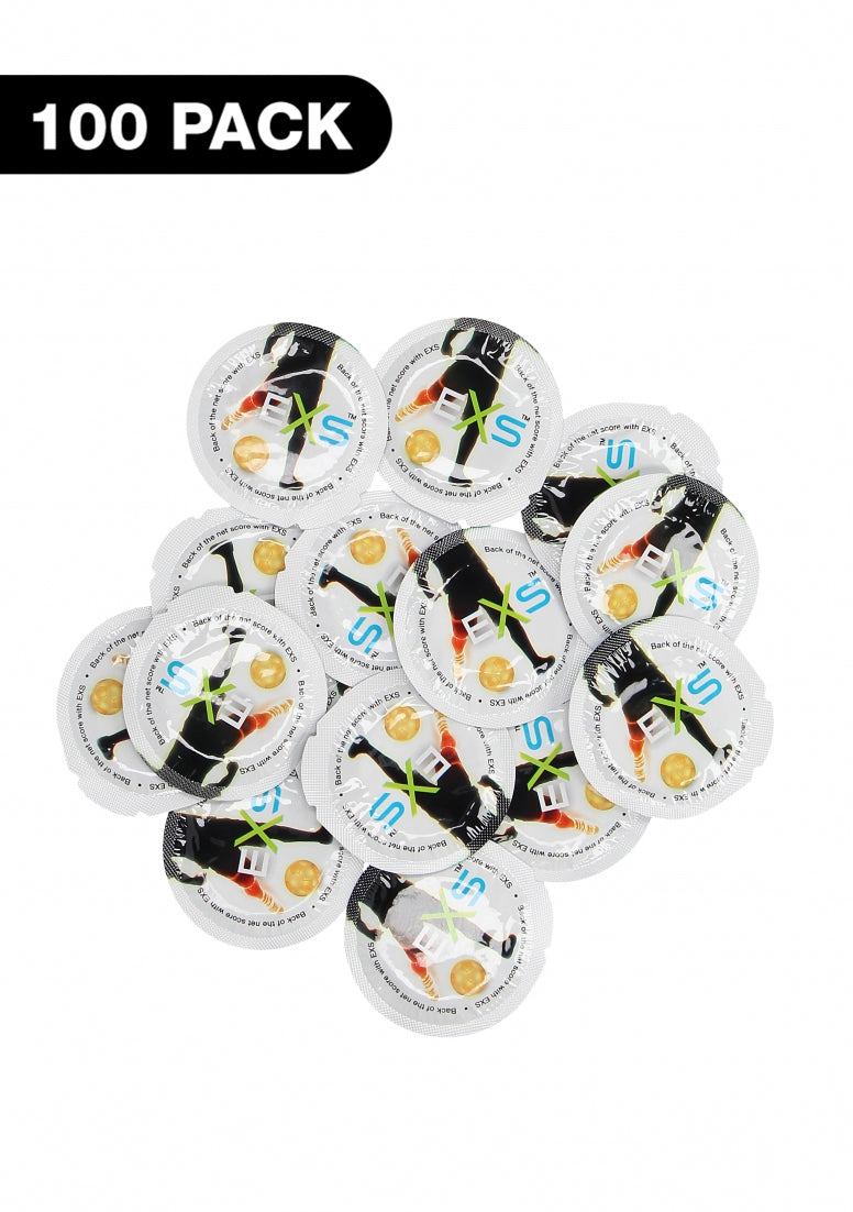 Exs Football Condoms - 100 pack