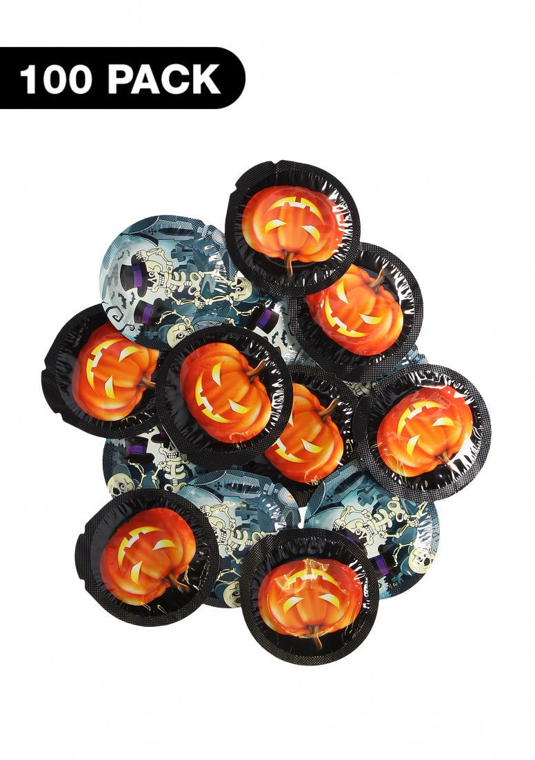 Exs Halloween Condoms - 100 pack