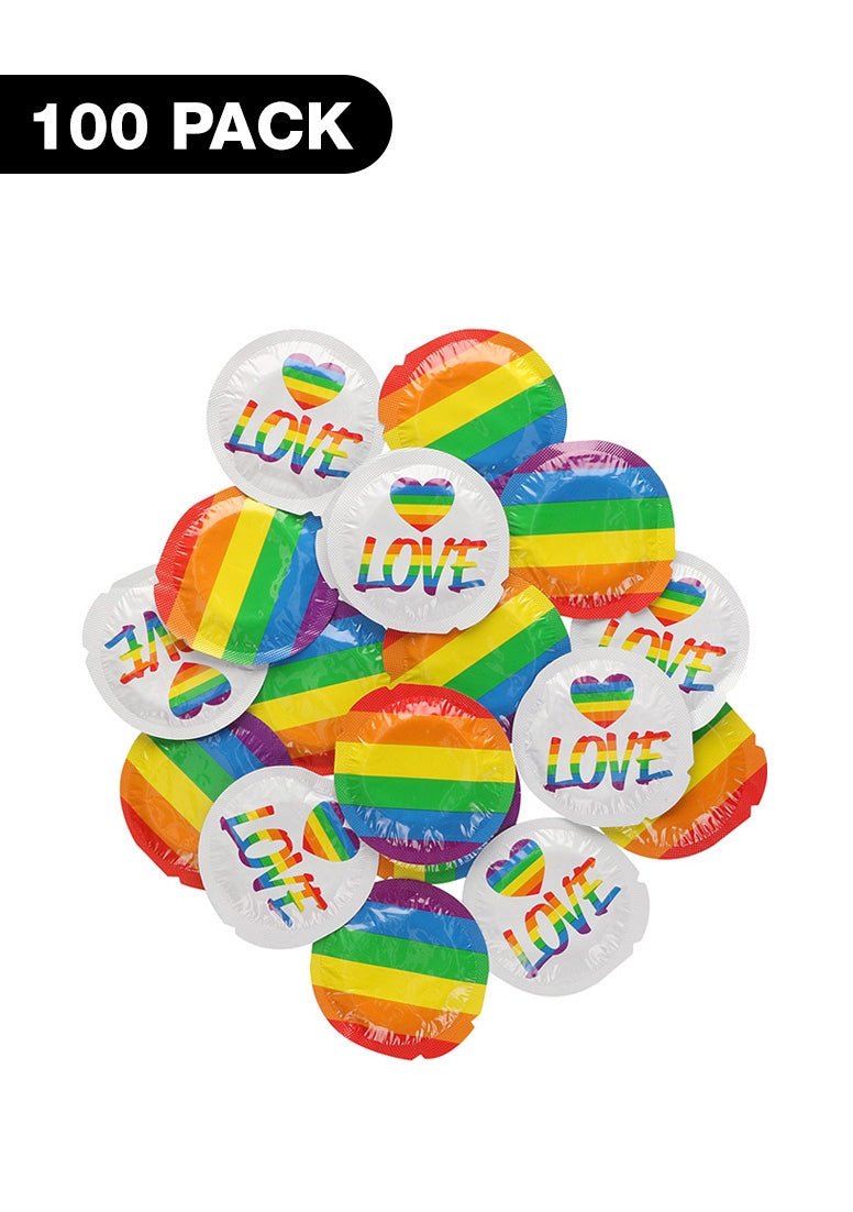 Pride Rainbow Flag - 100 pack