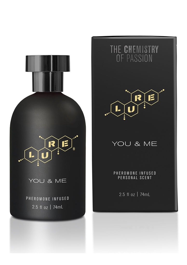 Lure Black Label You & Me, Pheromone Personal Scent - 74 ml