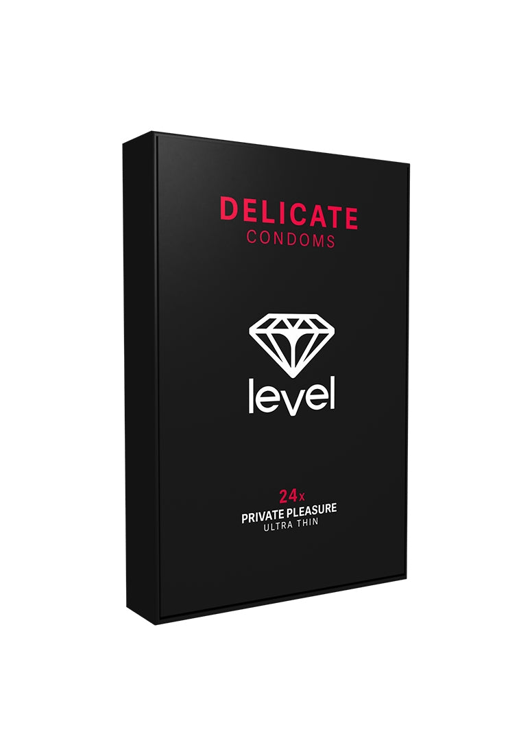 Level Delicate Condoms - 24x
