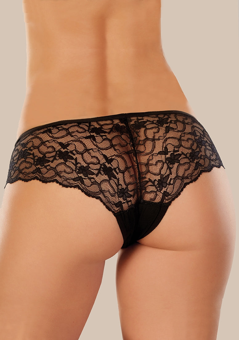 Adore Sweetheart Panty - Black