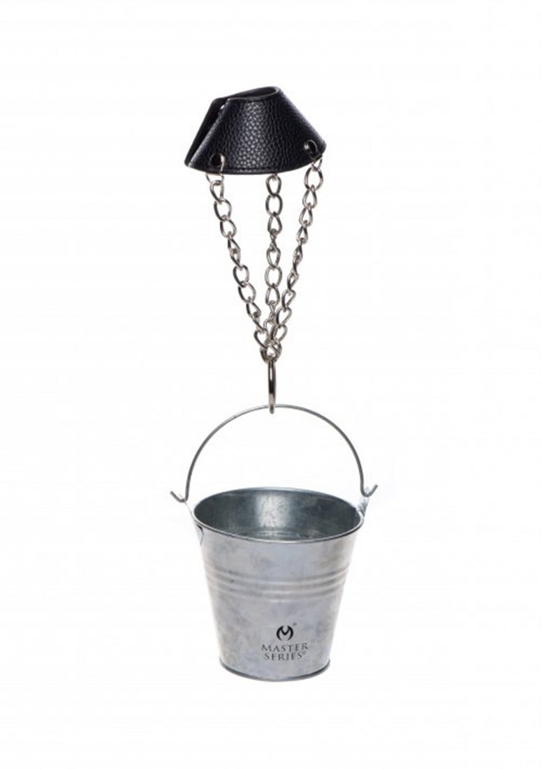 Hell's Bucket Ball Stretcher with Bucket - Silver