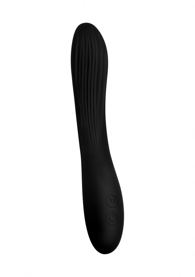 7X Bendable Silicone Vibe - Black