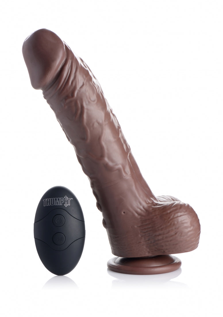 "LDZ 7"" Squirting Dildo - Dark"