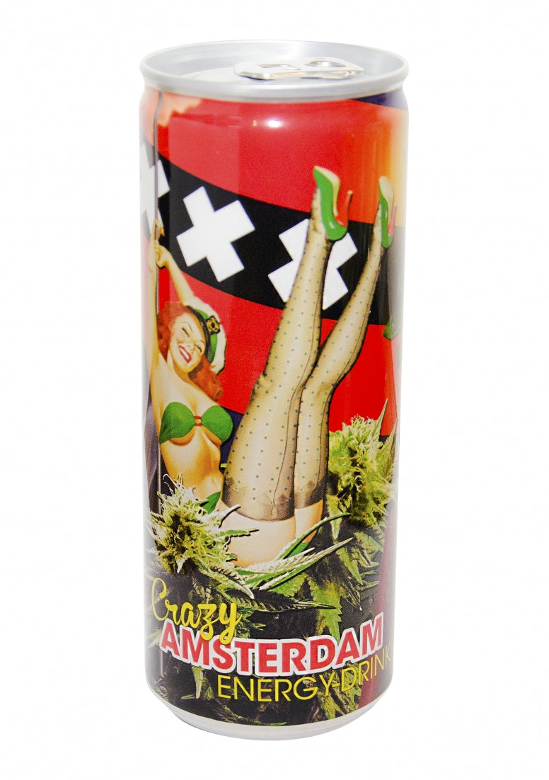 Energy Drink Crazy Amsterdam - 250ml