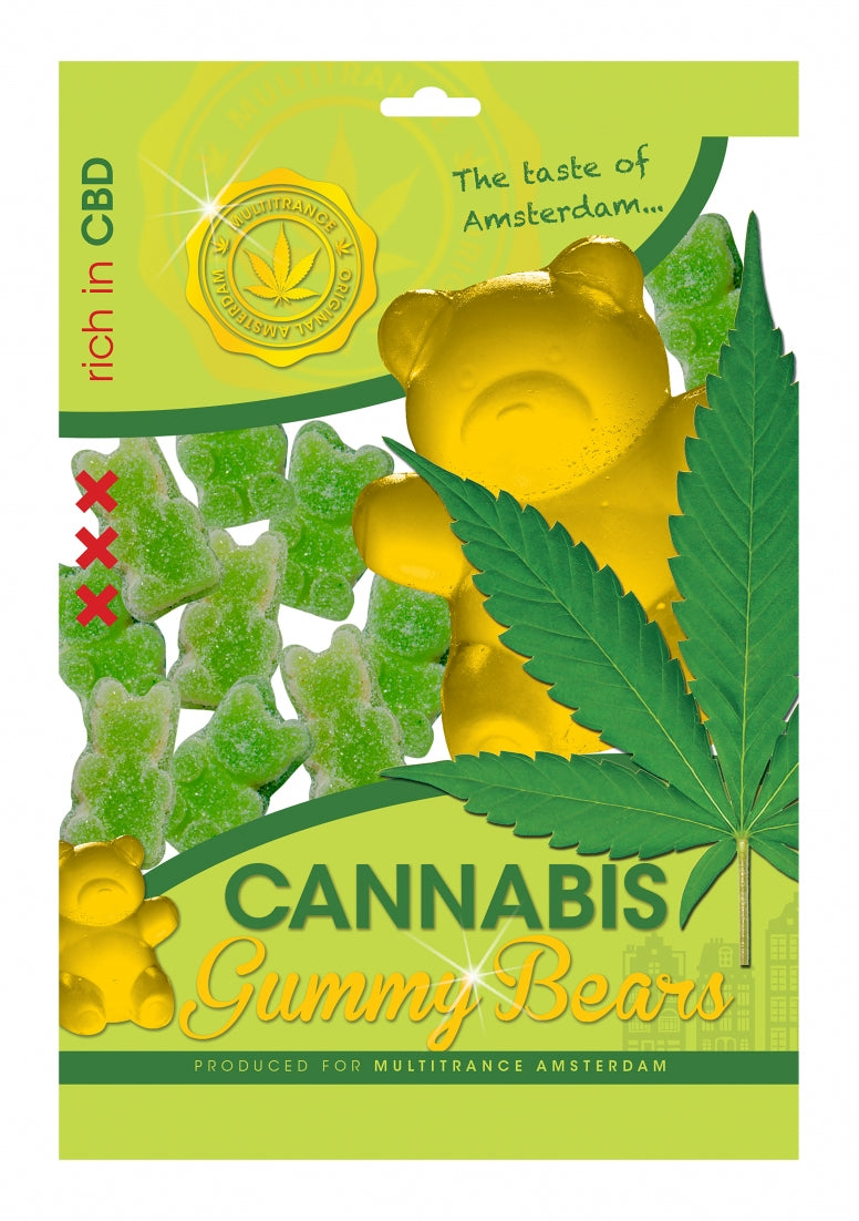 Cannabis Gummy Bears - 100 g