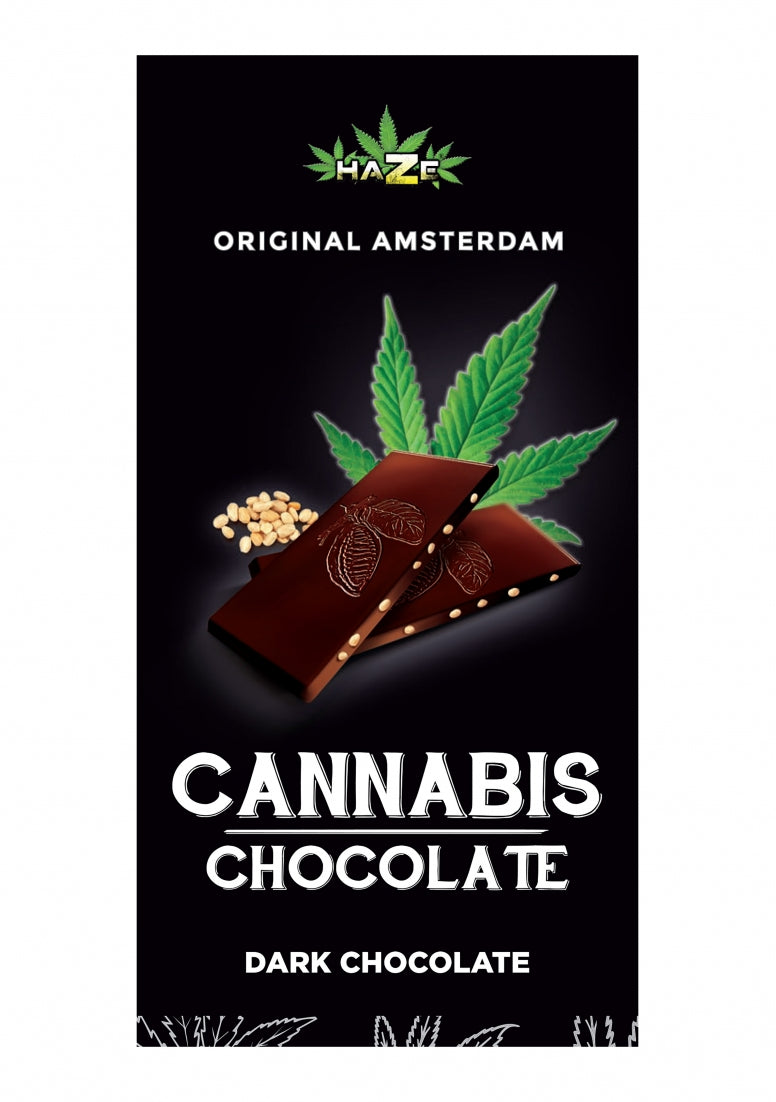 HaZe - Cannabis Chocolate Dark - 80 g