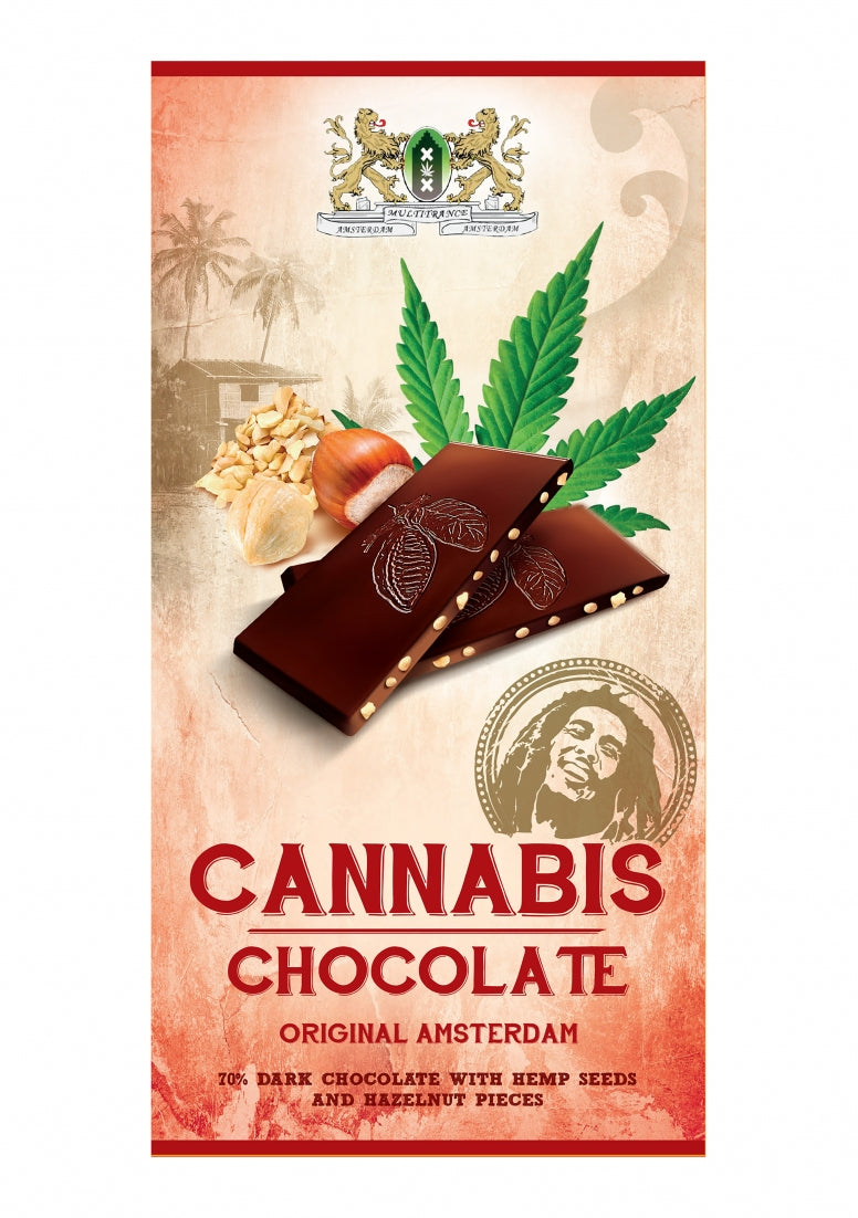 Bob Marley Chocolate - Dark - 80 g