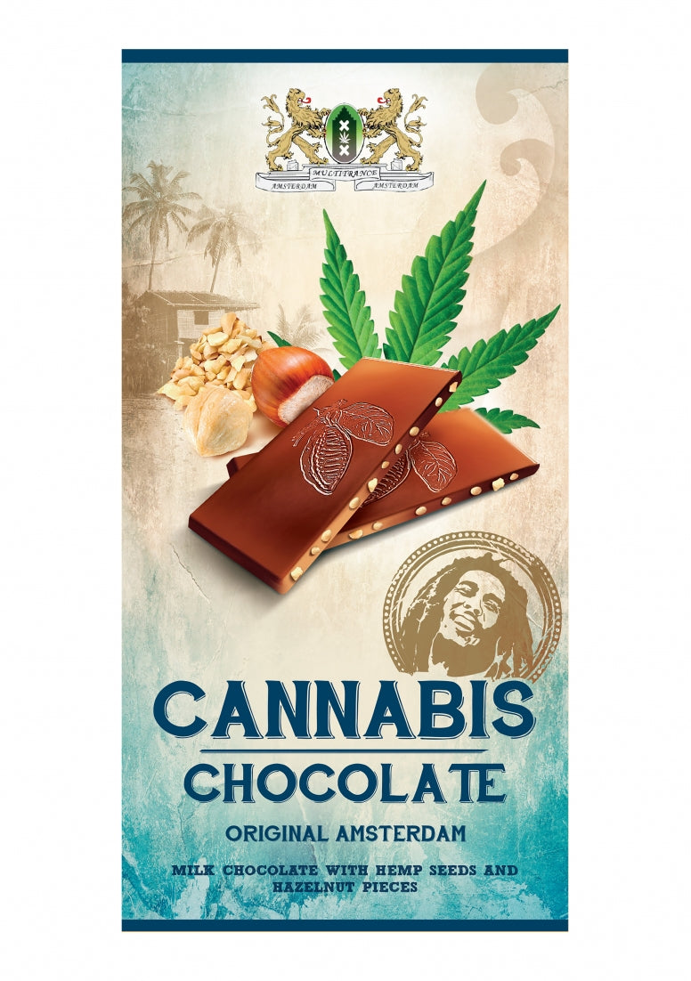 Bob Marley Chocolate - Milk - 80 g